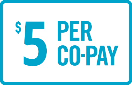 Most eligible TYVASO patients pay as little as $5.00 co-pay per month